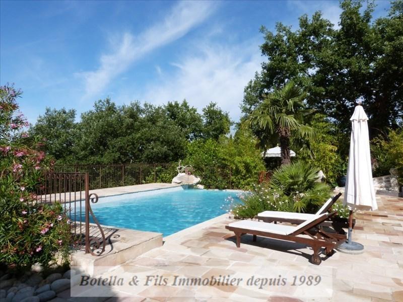 Vendita casa Lussan 499000€ - Fotografia 1