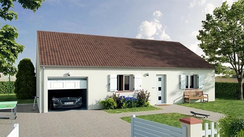 Maison  3 pièces + Terrain 1080 m² Cour-Cheverny par babeau seguin