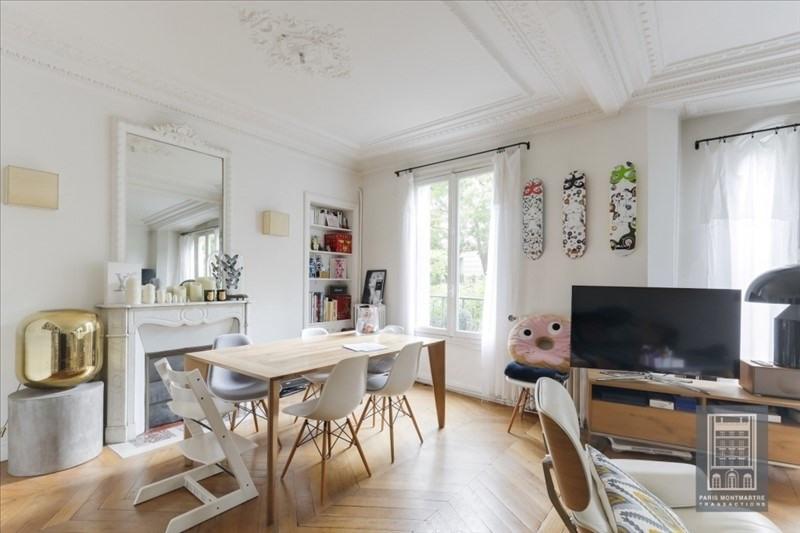 Vente appartement Paris 18ème 866000€ - Photo 3