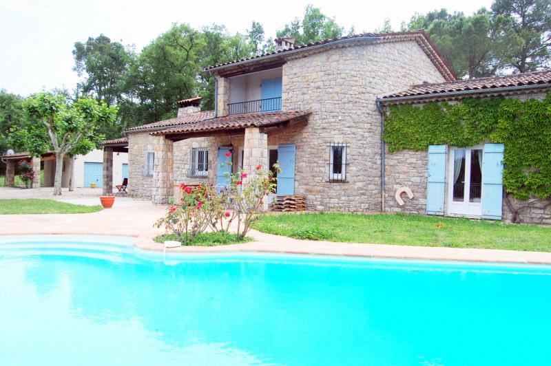 Venta de prestigio  casa Fayence 840000€ - Fotografía 4