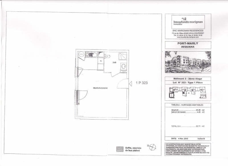 Location appartement Le port marly 649€ CC - Photo 2