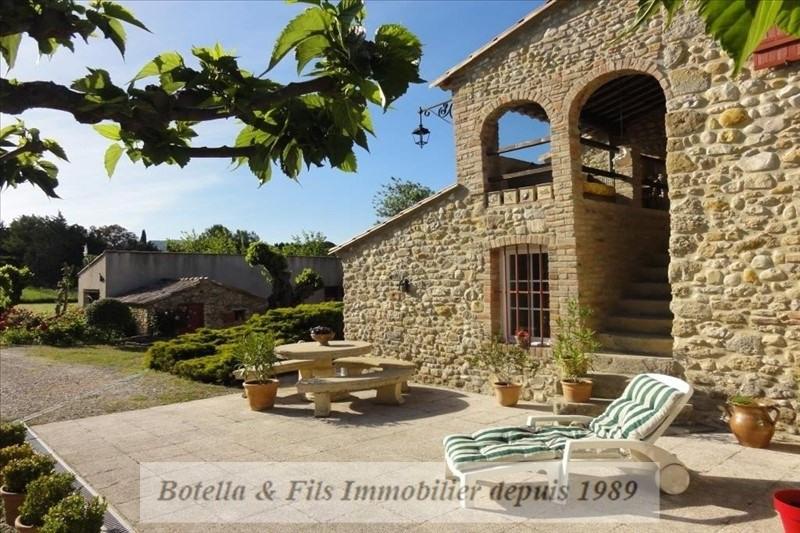 Immobile residenziali di prestigio casa Barjac 572000€ - Fotografia 12
