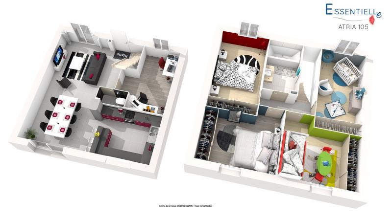 Maison  7 pièces + Terrain 427 m² Chaumes-en-Brie par MAISONS SESAME