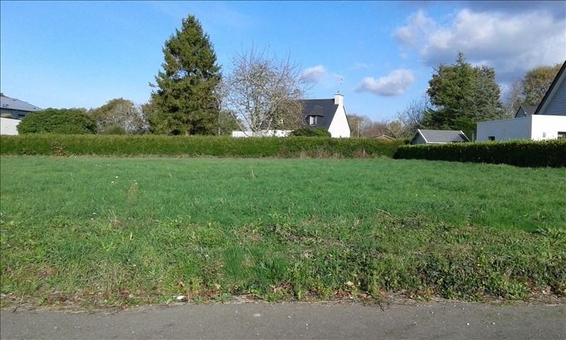 Vendita terreno Benodet 124500€ - Fotografia 1