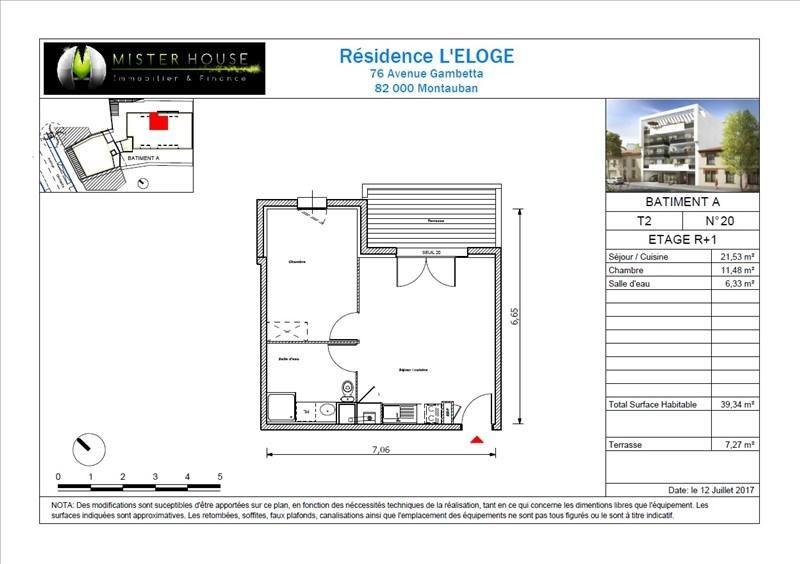 Sale apartment Montauban 115900€ - Picture 7