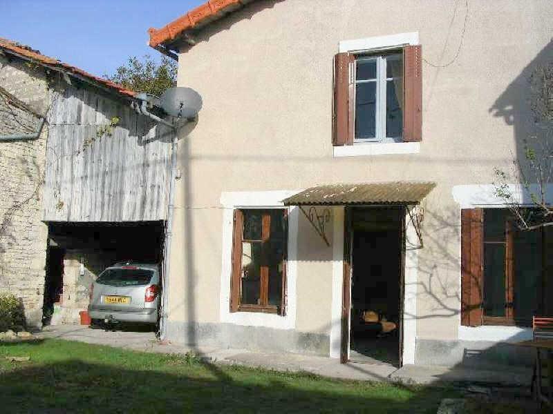 Vente maison / villa Aigre 66000€ - Photo 1