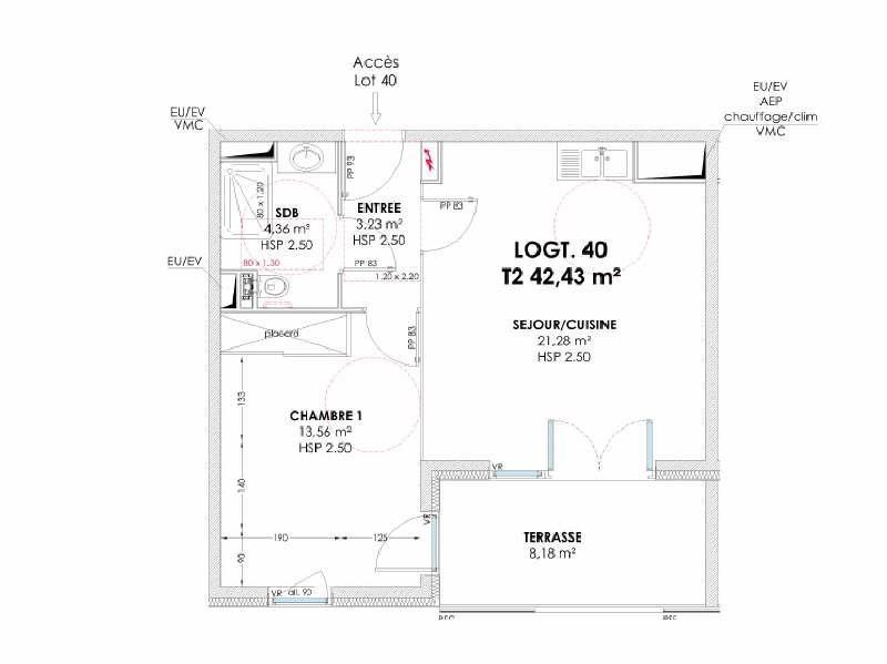 Vente appartement Miramas 152000€ - Photo 3