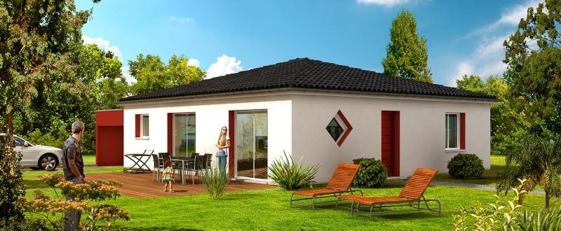 Maison  5 pièces + Terrain 820 m² Vendays-Montalivet par CONSTRUCTION HORIZONTALE
