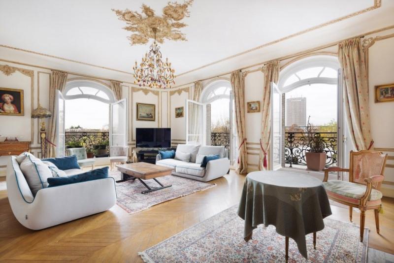 Revenda residencial de prestígio apartamento Paris 16ème 2090000€ - Fotografia 1