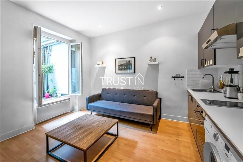 Vente appartement Paris 17ème 275000€ - Photo 2