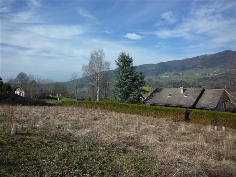 Vendita terreno Menthonnex en bornes 164000€ - Fotografia 3