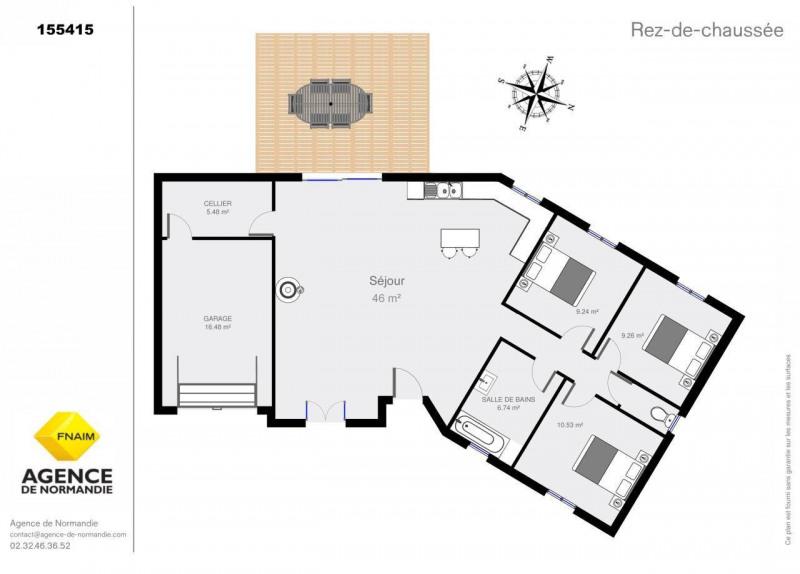 Sale house / villa Orbec 155000€ - Picture 5