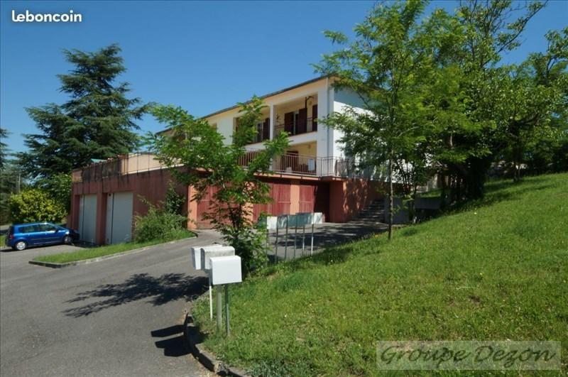 Vente appartement Castelginest 135000€ - Photo 1