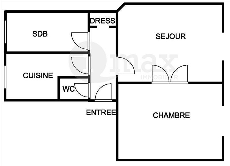 Sale apartment Courbevoie 260000€ - Picture 1