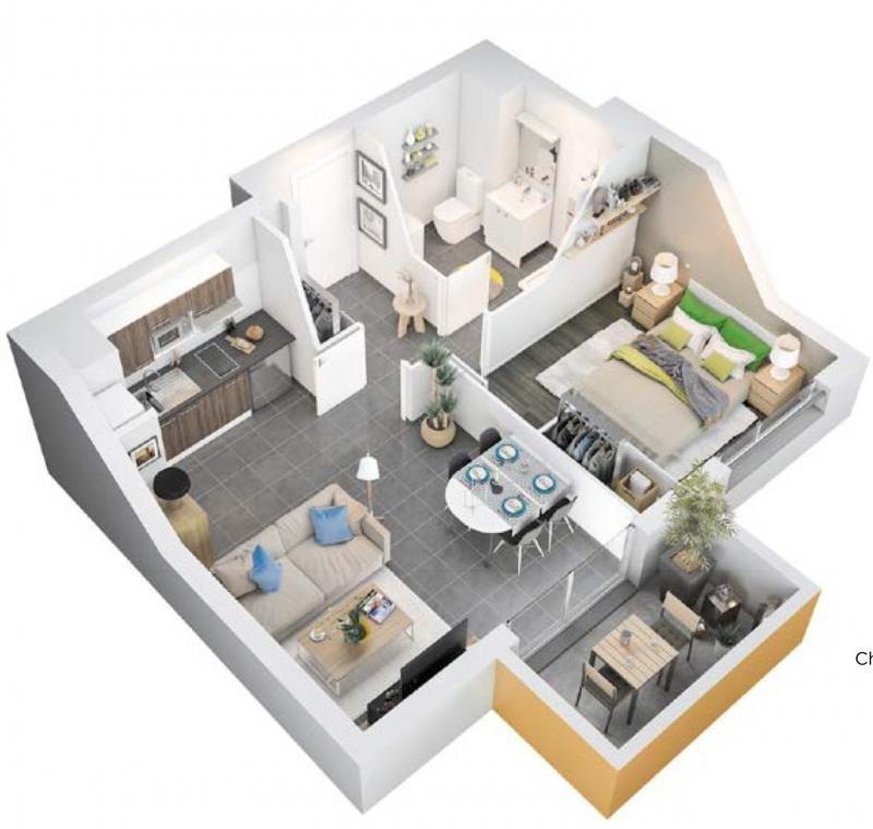 Vente appartement Armentieres 153450€ - Photo 2