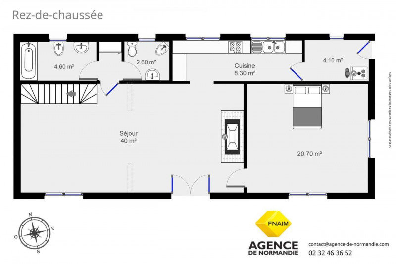 Vente maison / villa Broglie 150000€ - Photo 6