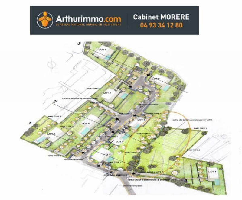 Vente terrain Antibes 315000€ - Photo 2