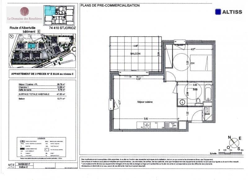 Vente appartement Saint-jorioz 213000€ - Photo 2