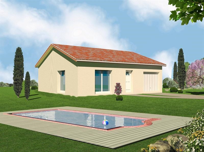 Maison  4 pièces + Terrain 450 m² Chasse-sur-Rhône par MAISONS VALTREA