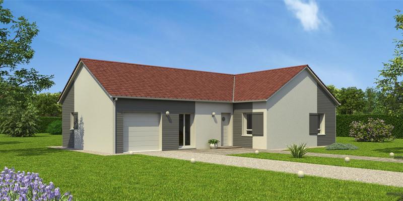 Mod le de maison partir de pi ces par maisons natilia for Crepi maison moderne