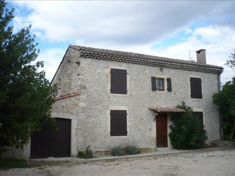 Rental house / villa Sauzet 906€ CC - Picture 1