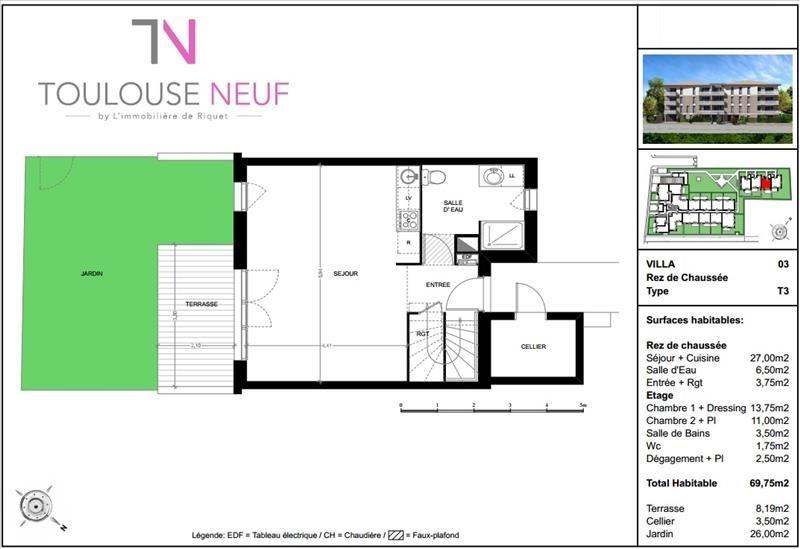 Vente maison / villa Toulouse 285000€ - Photo 10