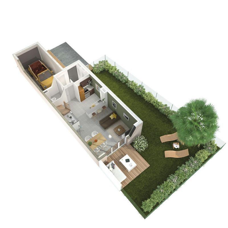 R sidence l 39 envol programme immobilier neuf colomiers propos par l - Chemin de la chasse colomiers ...