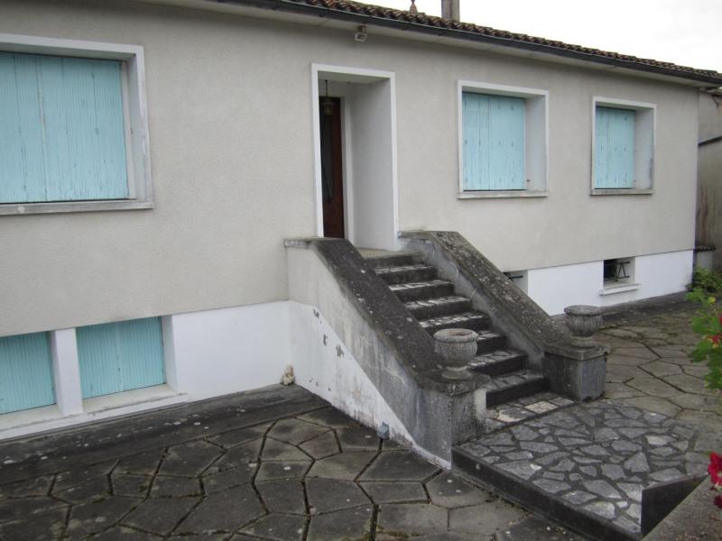 Vente maison / villa Barbezieux saint-hilaire 115000€ - Photo 1