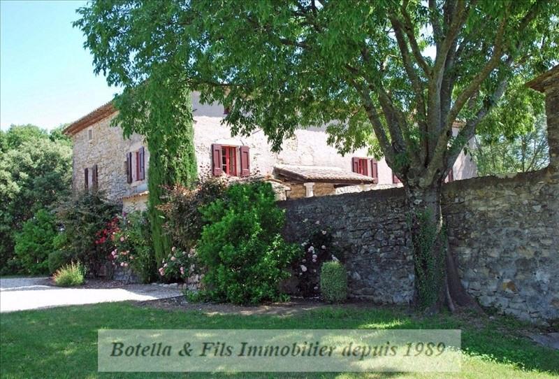 Vente de prestige maison / villa Barjac 699000€ - Photo 2