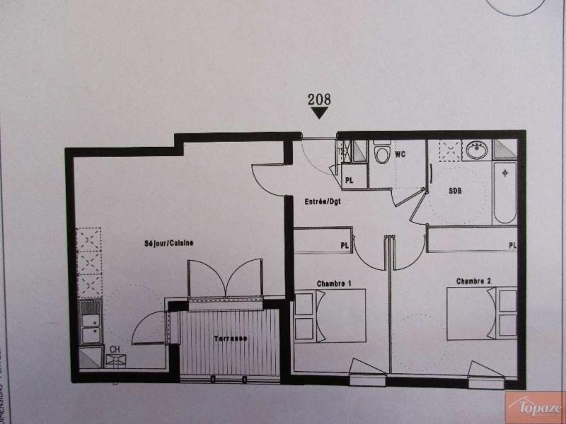 Vente appartement Castanet-tolosan 224900€ - Photo 1