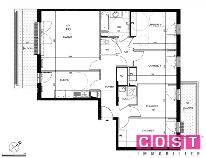 Venta  apartamento Gennevilliers 463000€ - Fotografía 8