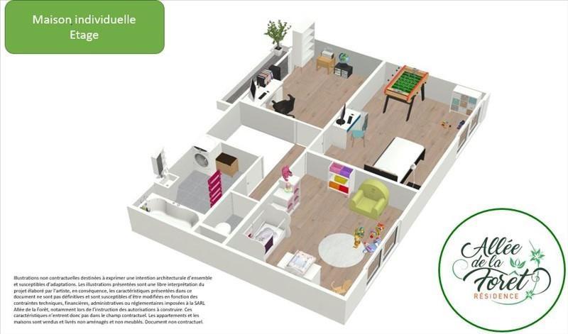 Produit d'investissement maison / villa Breval 255000€ - Photo 3