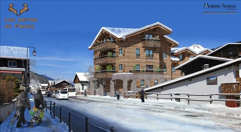 Deluxe sale apartment Morzine 250000€ - Picture 1