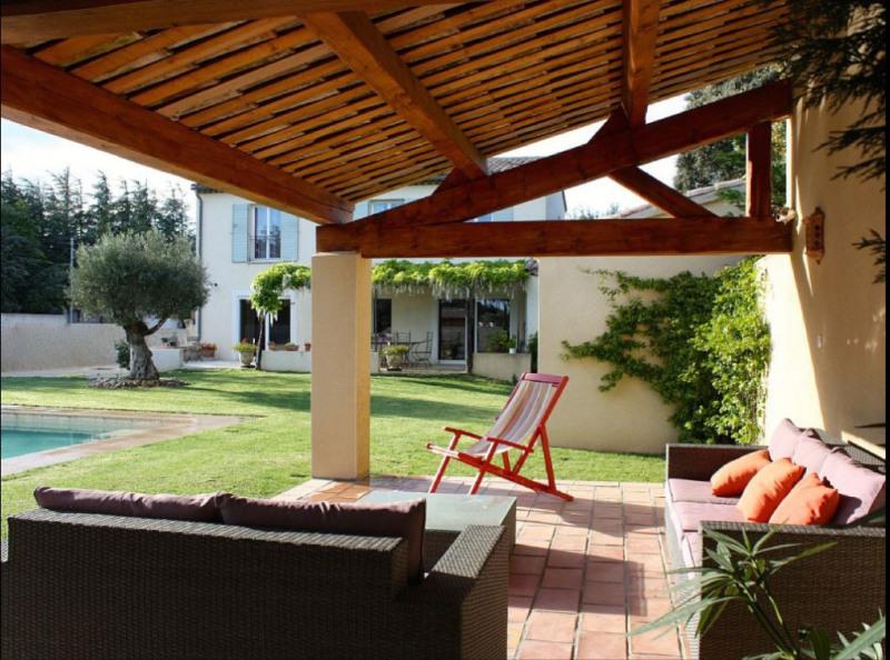 Sale house / villa Rochefort du gard 549000€ - Picture 2