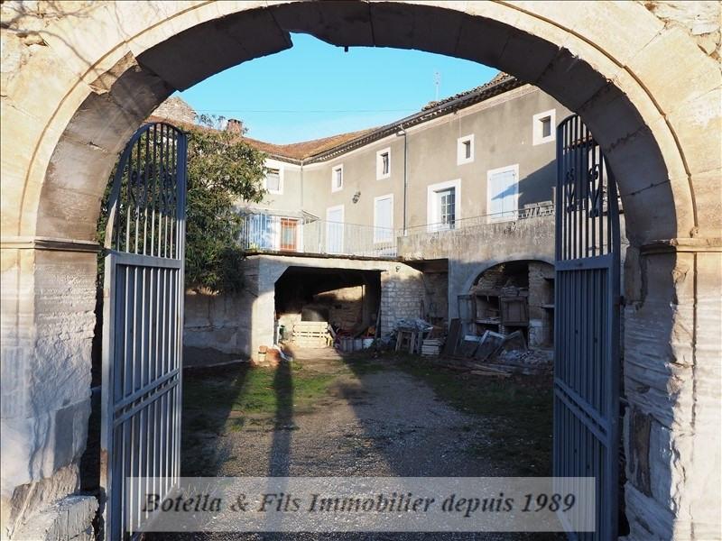 Vente maison / villa Goudargues 266000€ - Photo 2