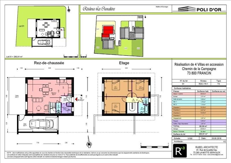 Vente maison / villa Francin 259000€ - Photo 3