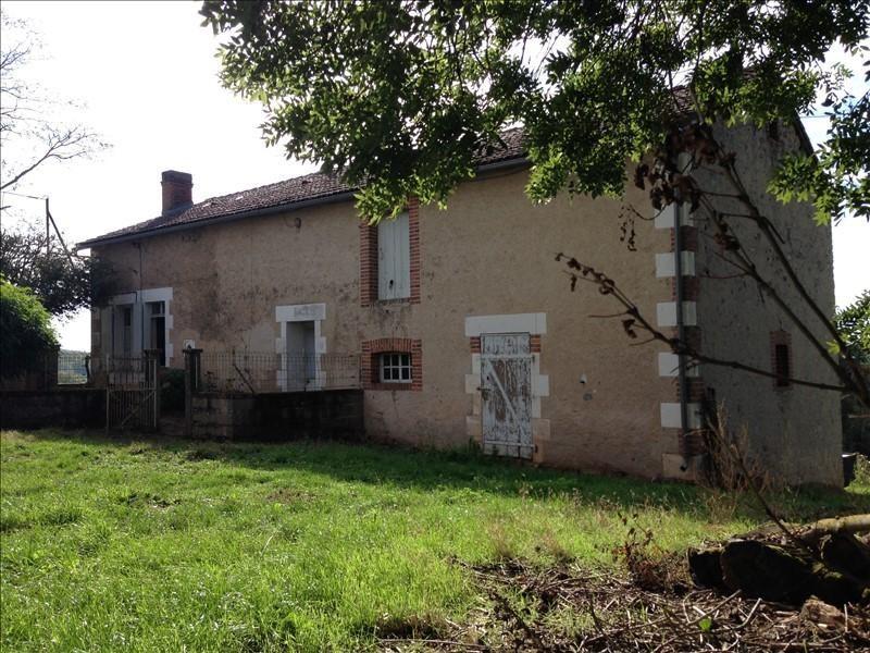 Sale house / villa Lathus st remy 143300€ - Picture 1