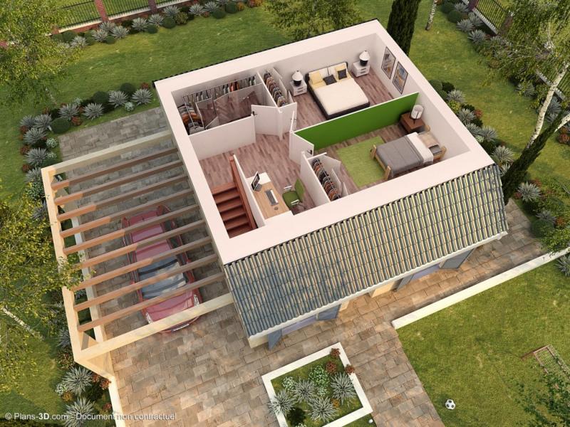 """Modèle de maison  """"Modèle de maison 4 pièces chartres 3.081"""" à partir de 4 pièces Essonne par Maison pierre"""