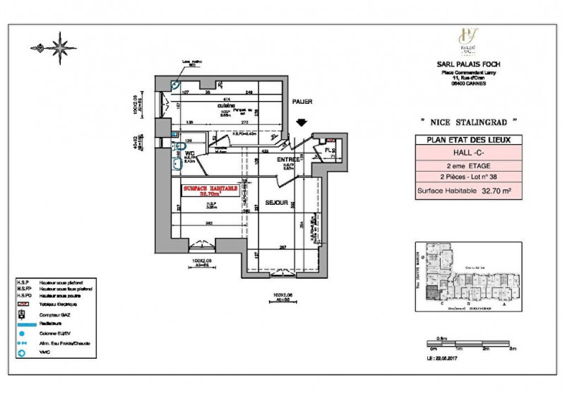 Produit d'investissement appartement Nice 198000€ - Photo 3