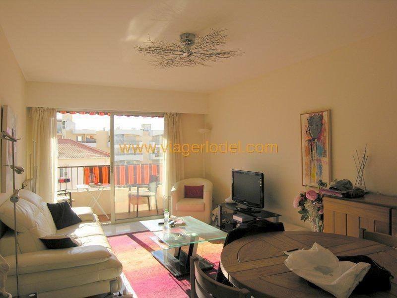 Vendita nell' vitalizio di vita appartamento Antibes 62000€ - Fotografia 1