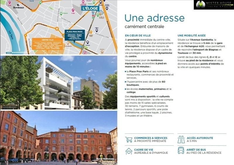 Vendita appartamento Montauban 155500€ - Fotografia 3