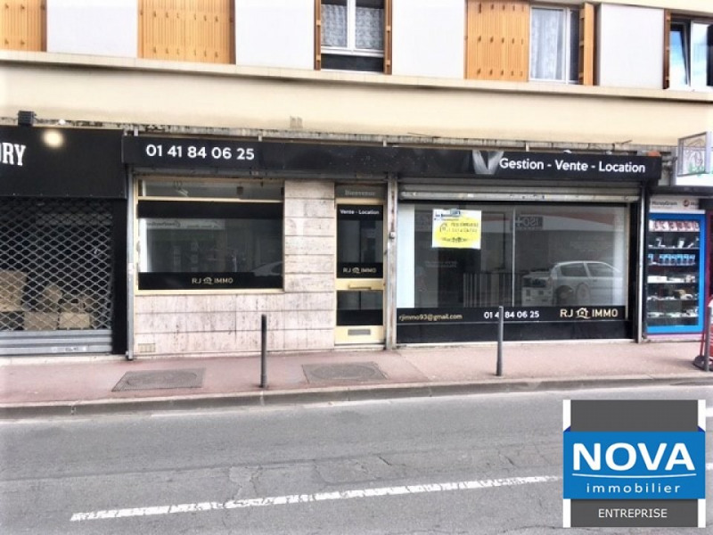 Location local commercial Aulnay sous bois 1940€ HT/HC - Photo 1