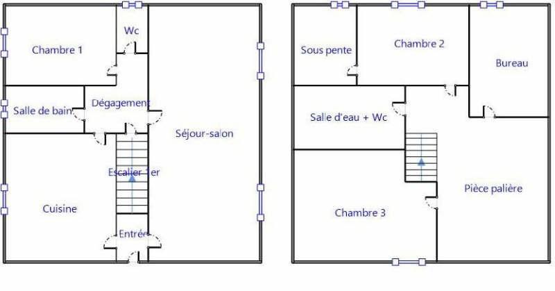 Vente maison / villa Orry la ville 359000€ - Photo 10