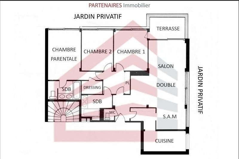 Vente appartement Le chesnay 439 000€ - Photo 5