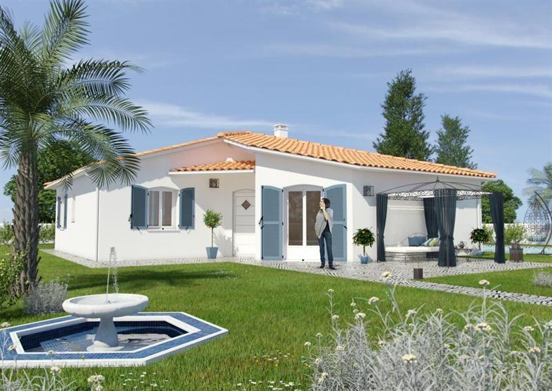 Maison  5 pièces + Terrain 810 m² Saint-Sixte par MAISONS CÔTÉ SOLEIL