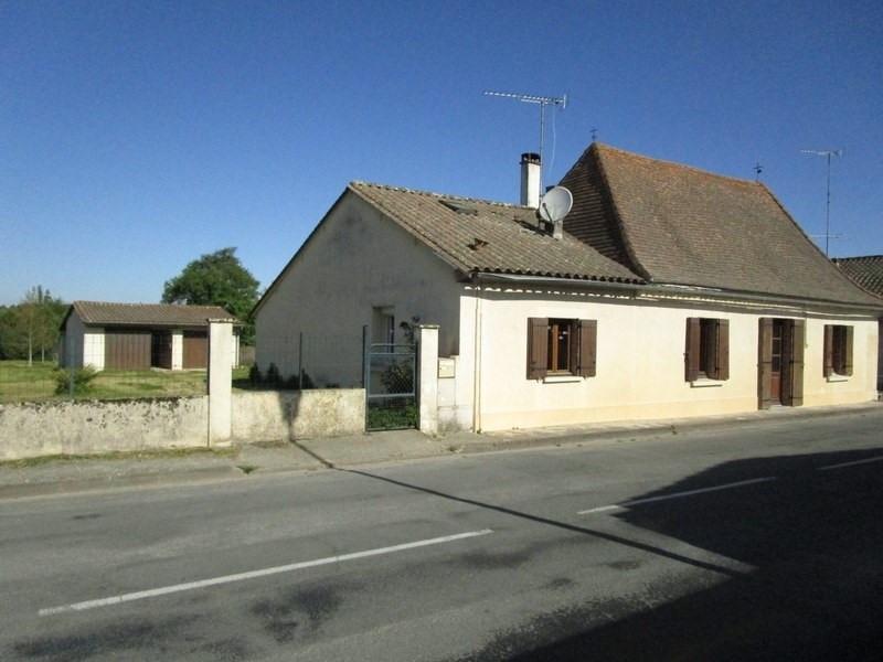 Vente maison / villa Echourgnac 121000€ - Photo 1