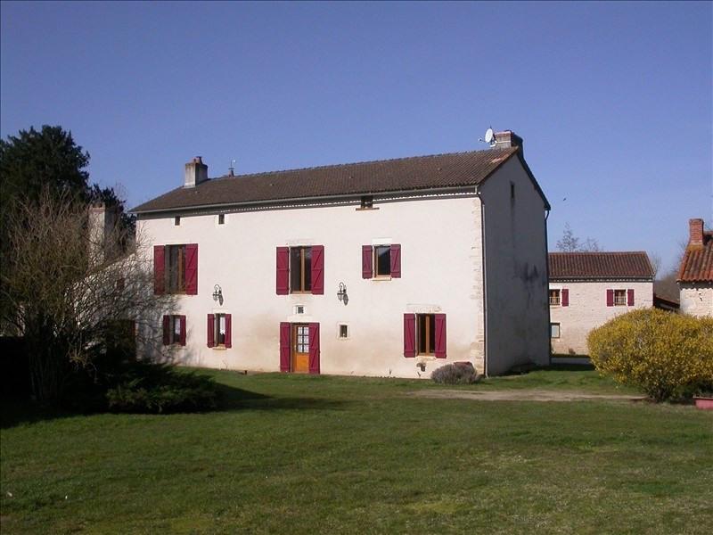 Vente maison / villa Usson du poitou 439000€ - Photo 8