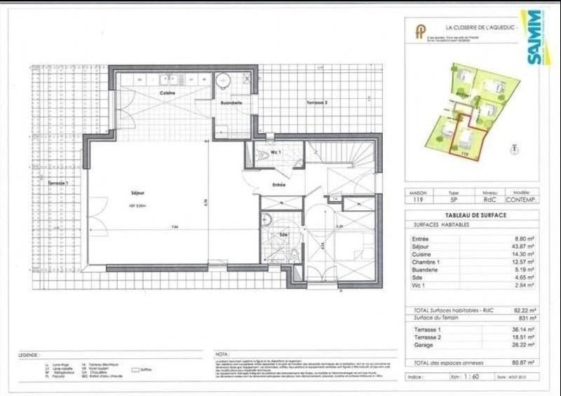 Vente maison / villa Mennecy 548000€ - Photo 3
