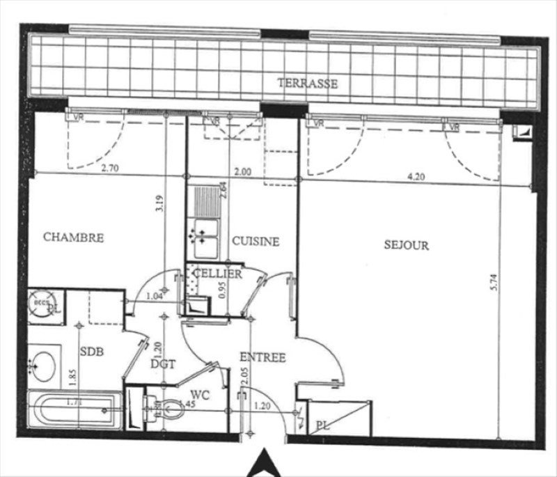 Sale apartment Savigny le temple 140000€ - Picture 8