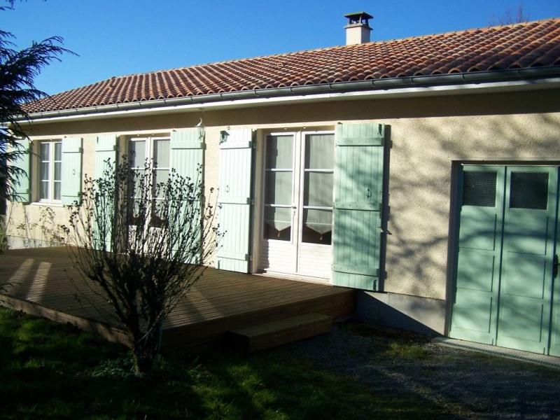 Location maison / villa Rilhac rancon 570€ CC - Photo 1